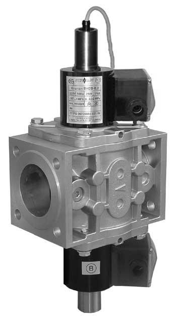 ВН клапан газовый (трехпозиционный)